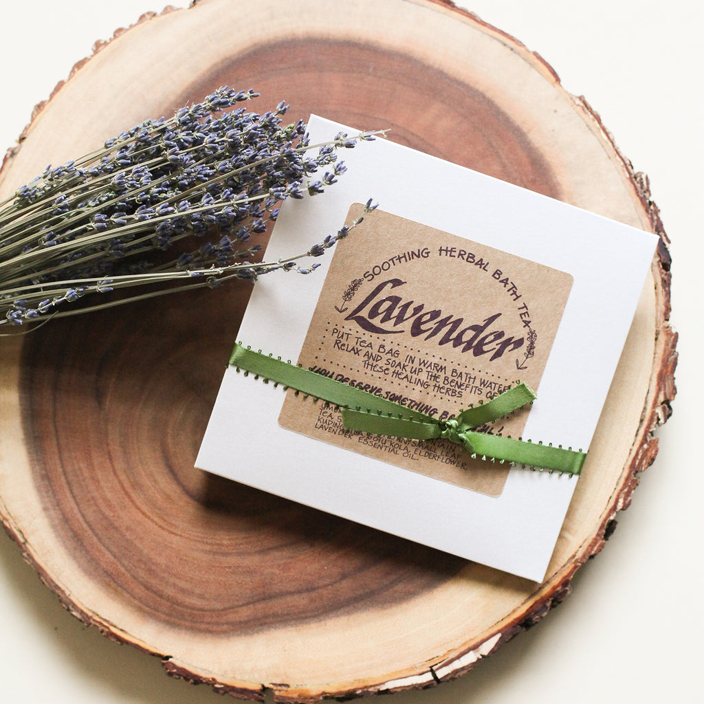 Soothing Lavender Herbal Bath Tea
