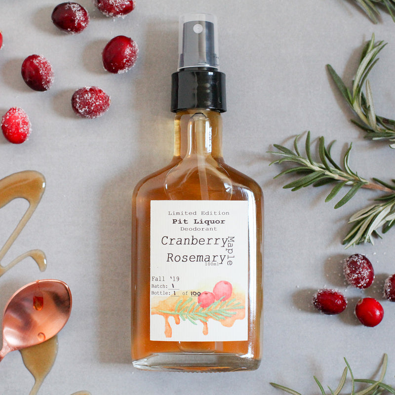 Maple, Cranberry, Rosemary LIMITED EDITION - November