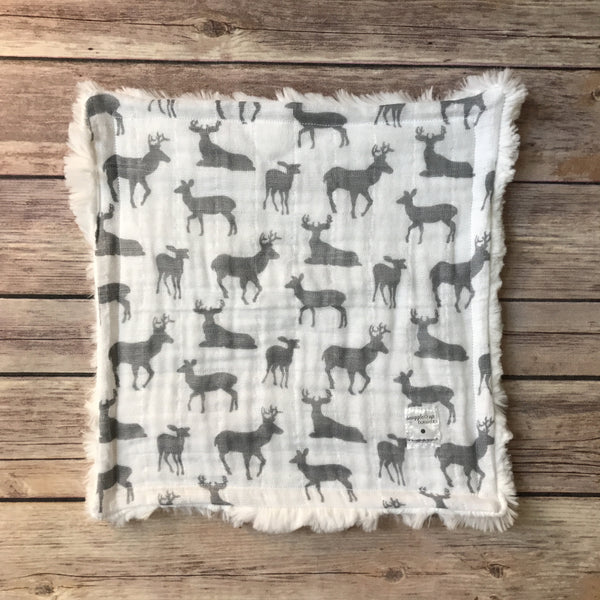 Bucks Gauze Mini Snuggle Blanket - Snuggle Up Buttercups