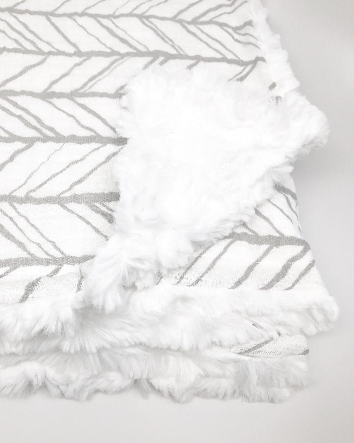 Herringbone Gauze Infant Blanket {Multiple Colors} - Snuggle Up Buttercups