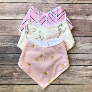 Whimsical Bib Sets {Multiple Sets Available}