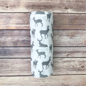Bucks Swaddle Blanket - Snuggle Up Buttercups