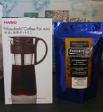Hario Cold Brew Pot 600ml +FREE 150g Ethiopian Organic Ground for Cold Brew