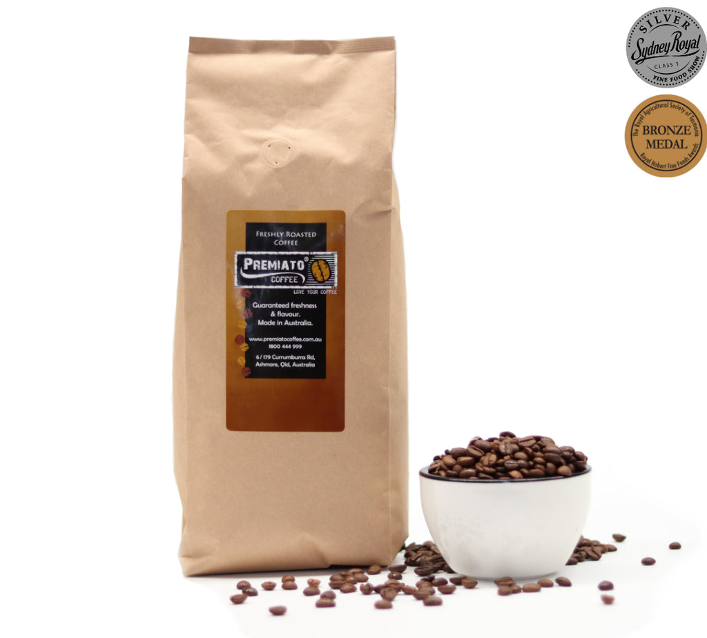 Organic Blend Coffee - 2 Awards - Mild, Medium Roast