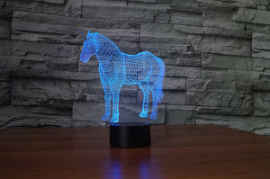 UNICORN 3D LAMP