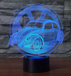 Volkswagen BEETLE 3D Lamp 8 Changeable Color [FREE SHIPPING]