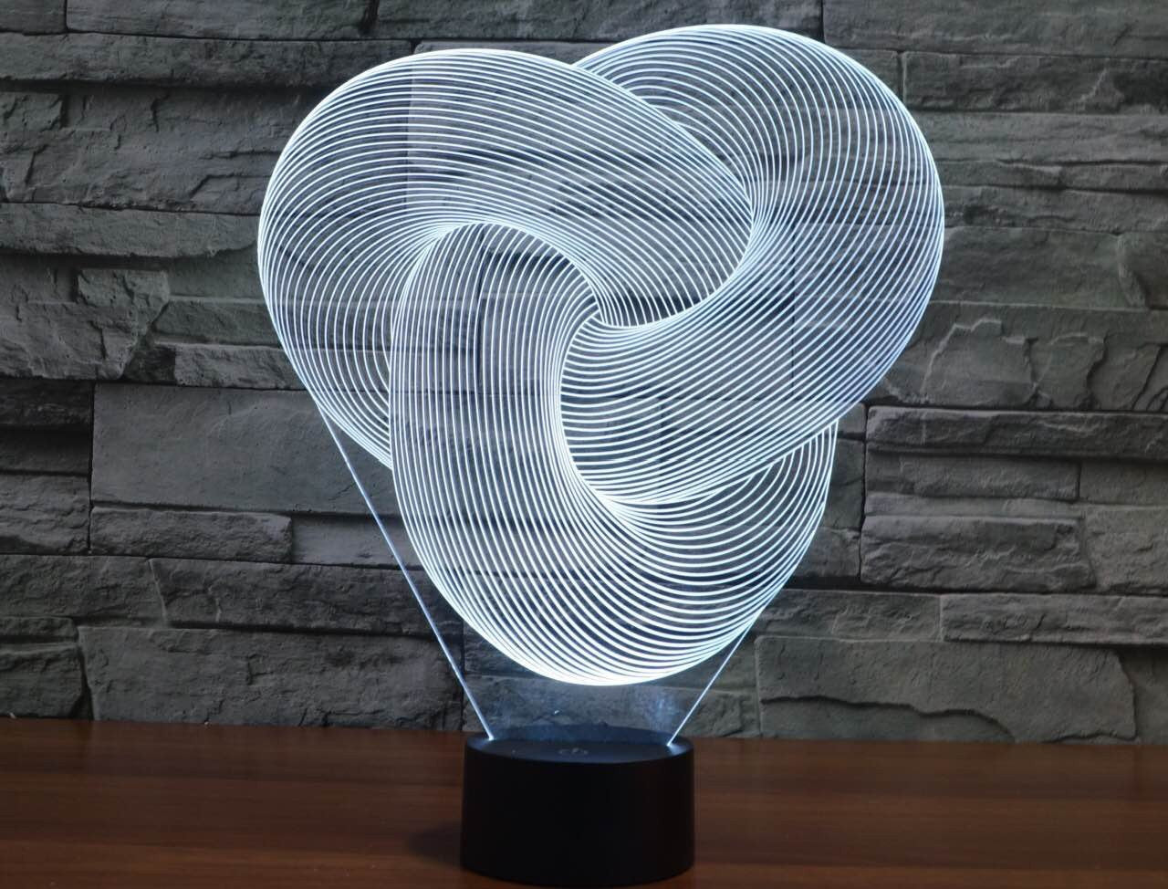 Twisted 3D LAMP
