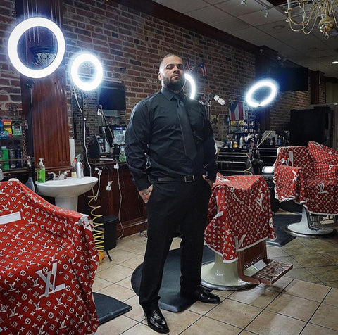 Frank Rodriguez Against the Grain Barbershop