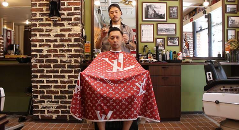 Illuzien Barber Cape (THE CITY Barber Shop)
