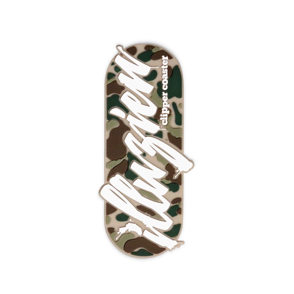 Camo Clipper Coaster