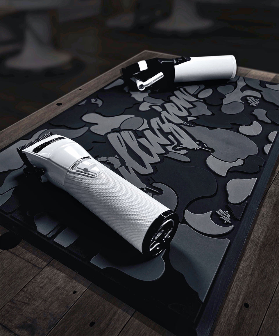 Black Camo Station Mat(te)