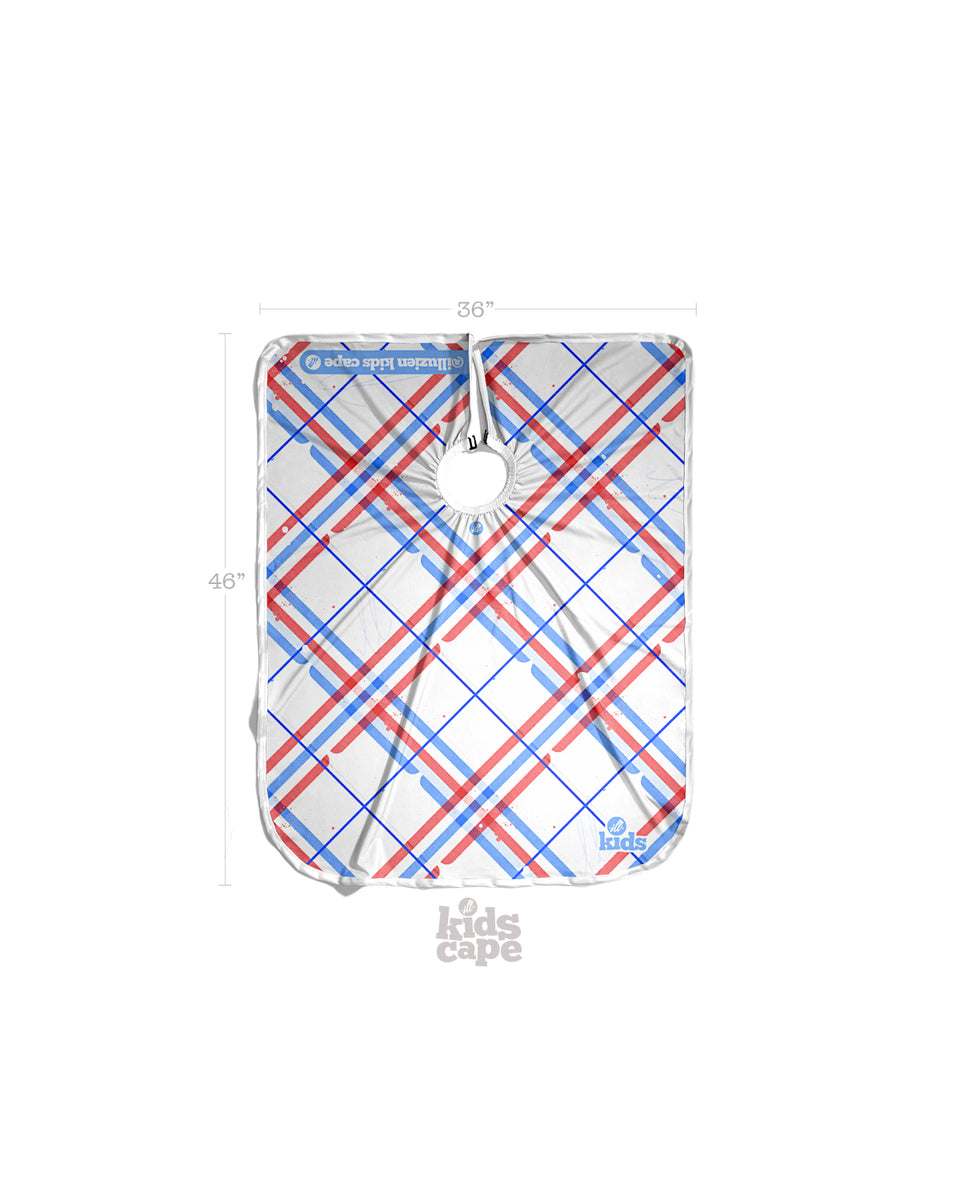 KIDS Plaid PRO Cape