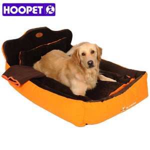 Completely Removable & Washable 3PCS Pet Cat Dog Bed with Double Sided Cushion,Soft Pillow & Blanket