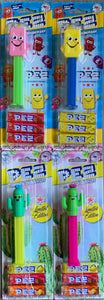 Pez Lot of 4: 2 x Mascot & 2 x Cactus