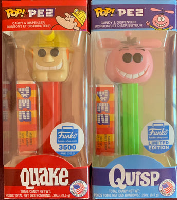 POP! Pez: Quake & Quisp