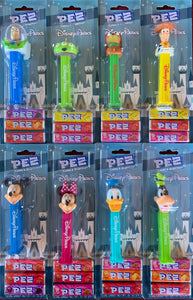 Pez Disney Parks Exclusive Set of 8 - on Cards