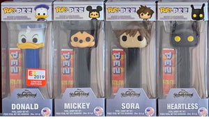 POP! Pez: Kingdom Hearts Set of 4