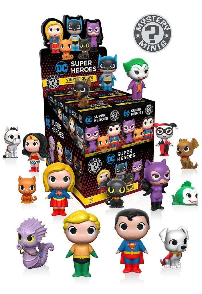 DC Heroes And Pets Case of 12