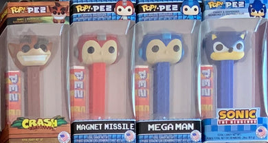 POP! Pez: Video Games Set of 4