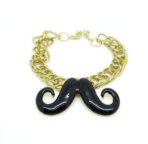 Cute Retro Moustache Bracelet - Pinkybears Fashion Boutique Malaysia