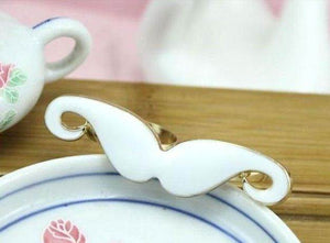 Double Moustache Ring - Pinkybears Fashion Boutique Malaysia
