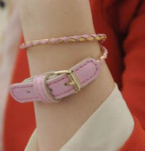 Dwi Mixed Buckle Belt Bracelet - Pinkybears Fashion Boutique Malaysia