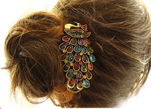 Vintage Peacock Banana Clip Hairpin - Pinkybears Fashion Boutique Malaysia