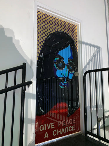 John Lennon Room Door