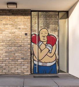 Boxing Buddha Door
