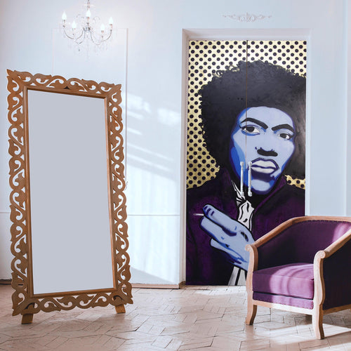 Jimi Hendrix double Doors