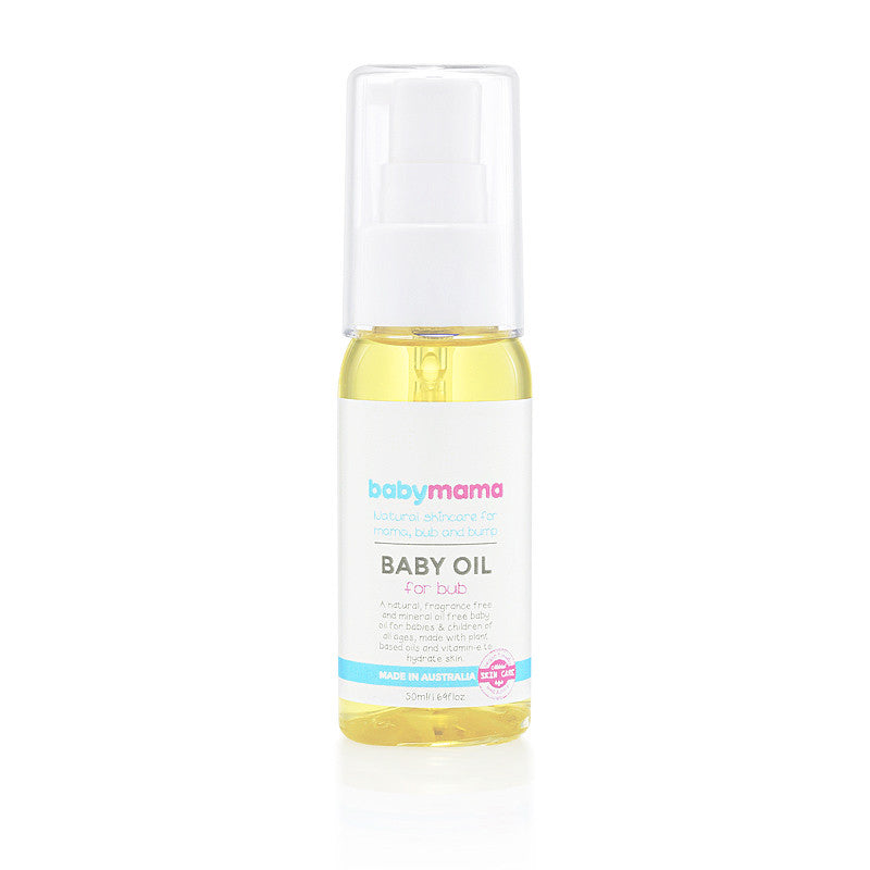 Natural Baby Body Oil - Bub