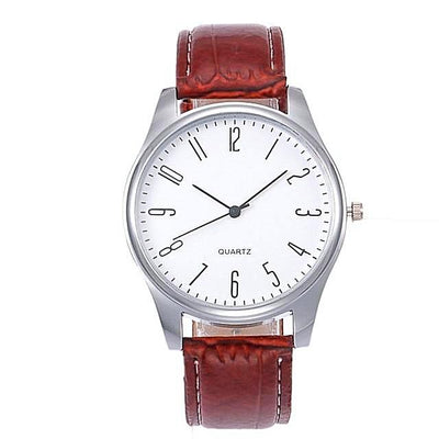 Quartz Watch Men Luxury Male Clock Business-jewelryshopmamoo
