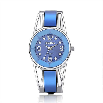 reloj mujer 2018 Hot Sell Xinhua Bracelet Watch Women Luxury Brand Stainless Steel Dial Quartz Wristwatches Ladies Watch-jewelryshopmamoo
