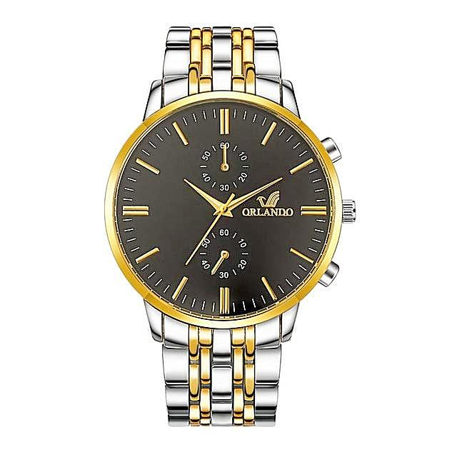 Men's Wrist Watches 2018 Luxury Brand Orlando Mens Quartz Watches Men Business Male Clock Gentlemen Casual Fashion Wristwatch-jewelryshopmamoo