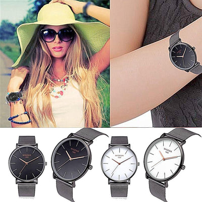 Simple Women Business Watch - jewelryshopmamoo