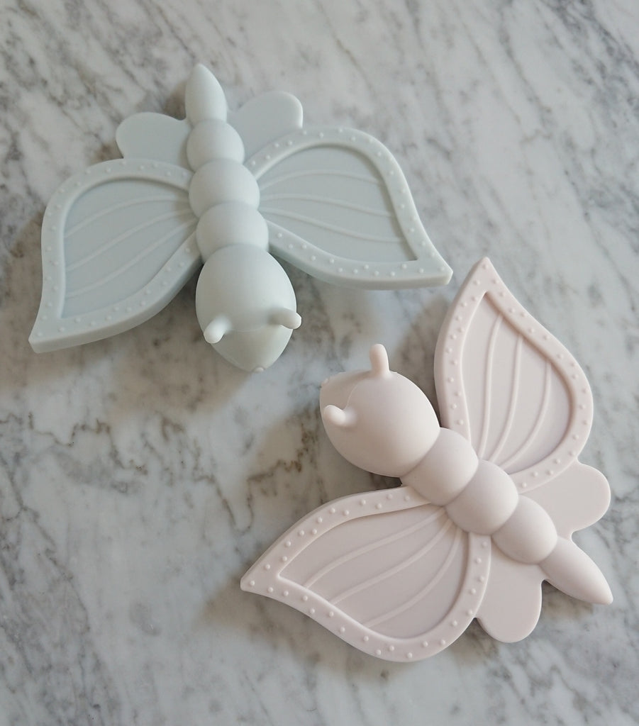 MiniWinther Silicone Butterfly Baby Teether