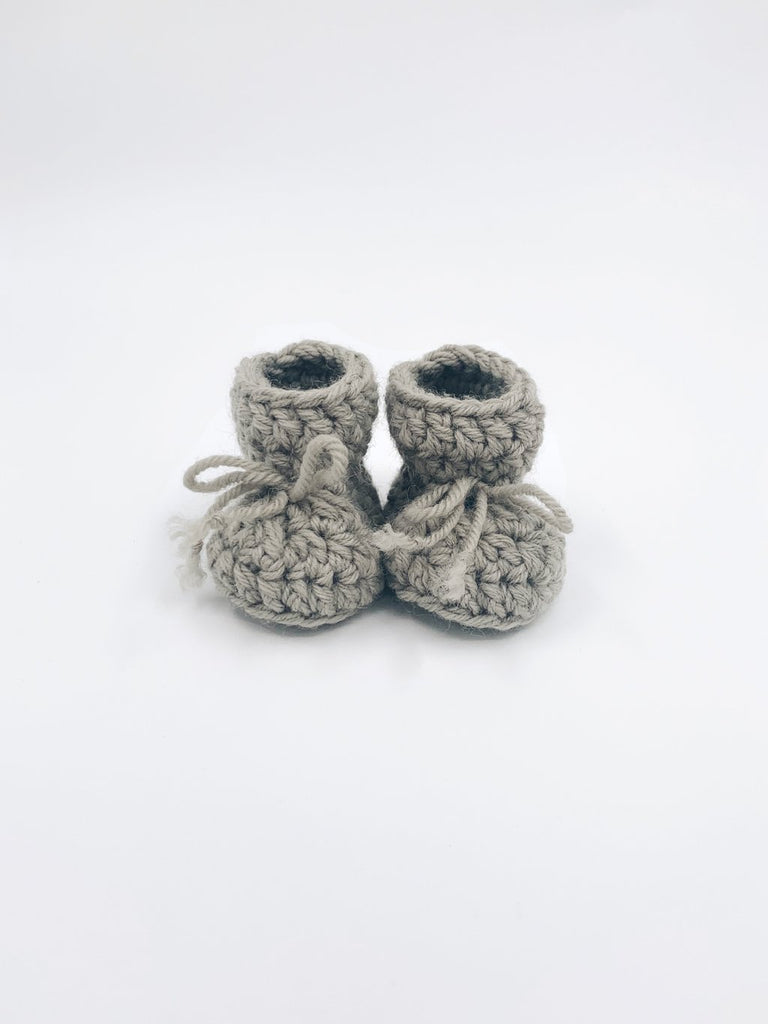 CCA Knits 100% Woollen Booties - Various Colours
