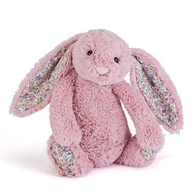 JellyCat Blossom Bashful Tulip Pink Bunny - Small