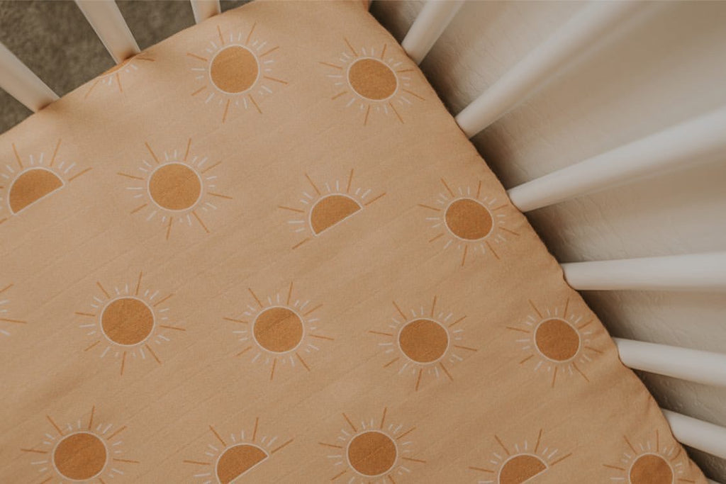 Brixton Phoenix Cot Sheets - Golden Hour