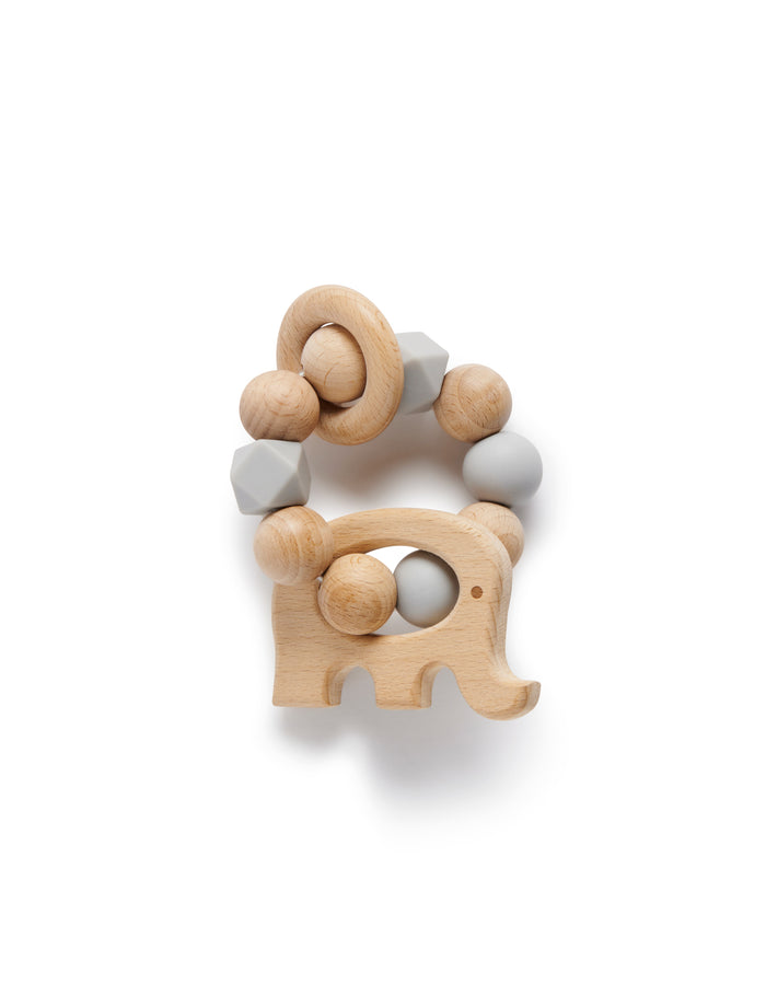 Pure Baby Elephant Teething Ring