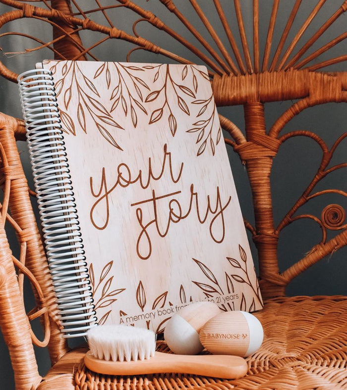 Hello Fern Your Story - A Baby Memory Book