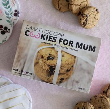Milky Goodness Lactation Cookies - Dark Chocolate Chip