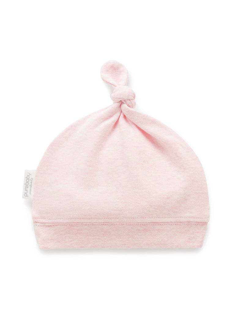Pure Baby Knot Hat (Various Colours)