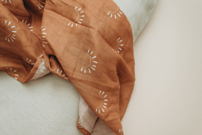 Brixton Phoenix Muslin Swaddle - Sundown