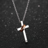 Cross Lovers Necklace