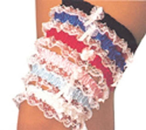 Assortment of Lace Leg Garters
