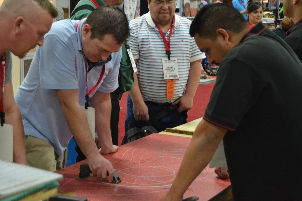 Grooving Designs at Surfaces