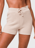 Cozy Knit Short - Cuban Sand