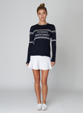 The Court Sweater - Navy