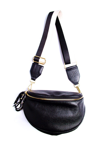 Obsessed Bumbag - Black/Gold
